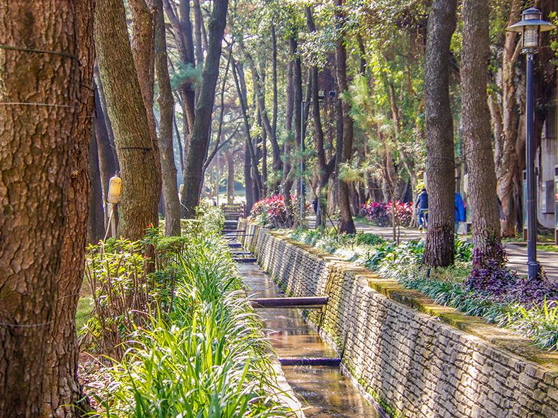 百花川(Hundred Blossoms Brook)